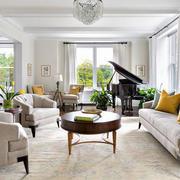 别墅现代简约风格客厅