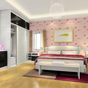 甜美时尚的女生卧室