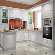 厨房简约干净橱柜展示