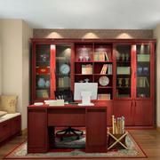 舒适的特色书房