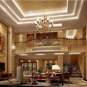 二层别墅大厅图片
