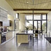木屋别墅大厨房