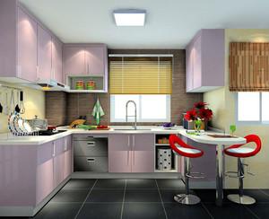 别墅开放式厨房展示