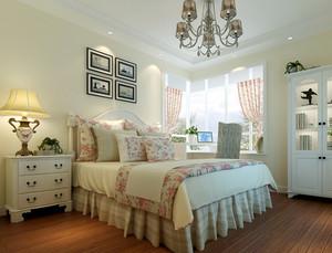 静谧的乡村田园风格卧室装修设计图片大全