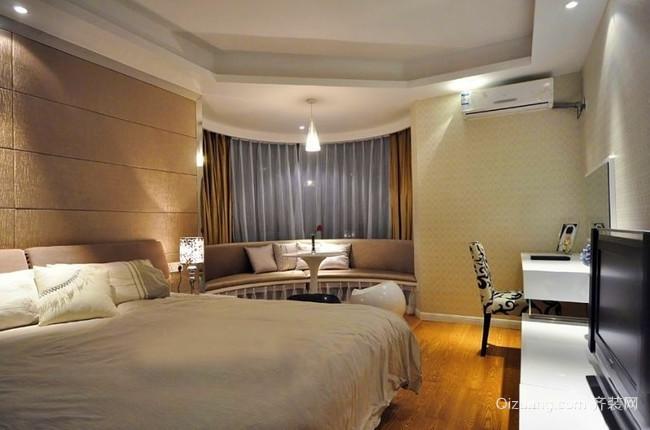 令人神清气爽的现代风格卧室装修设计图片大全