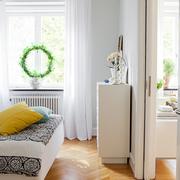 小户型白色简约卧室