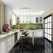 现代年轻家庭厨房