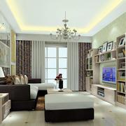 客厅组合电视置物柜图片