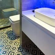 浴室花样地板图片