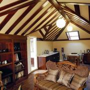 美式风格复式楼阁楼