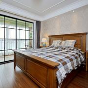 朴素简约的卧室图片