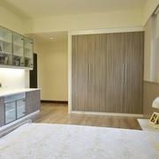 卧室灰色系衣柜欣赏