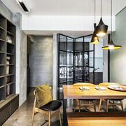 别墅宜家木质餐桌