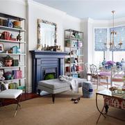 别墅美式客厅装饰