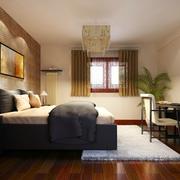 家居卧室新中式装饰