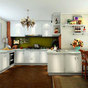 厨房收纳架布置展示