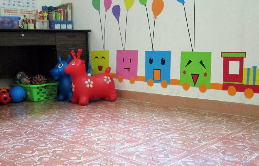 2015活泼生机的都市幼儿园小班教室布置效果图大全