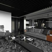 家居客厅沙发摆放设计