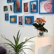 彰显个性的家居照片墙