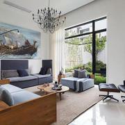 公寓客厅装饰画展示