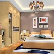 原木色调的卧室展示