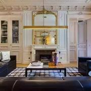 公寓客厅美式设计