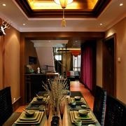 家居美式温馨餐厅