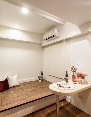 100平米新古典简约时尚小户型公寓室内装修设计效果图