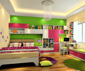 专为女孩设计的灵动温馨的卧室装修效果图