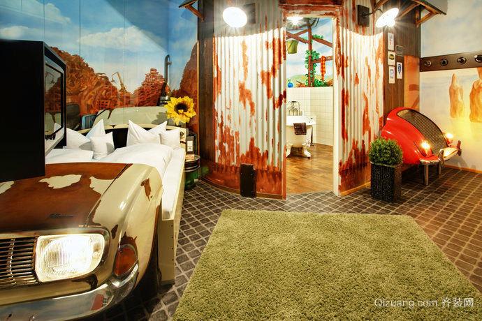 被玩坏了的奇妙浴室装修效果图