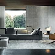 超级时尚现代化的客厅