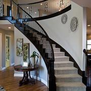 复式楼旋转楼梯欣赏