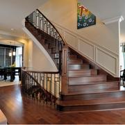别墅美式楼梯