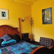 家居卧室装饰画布置