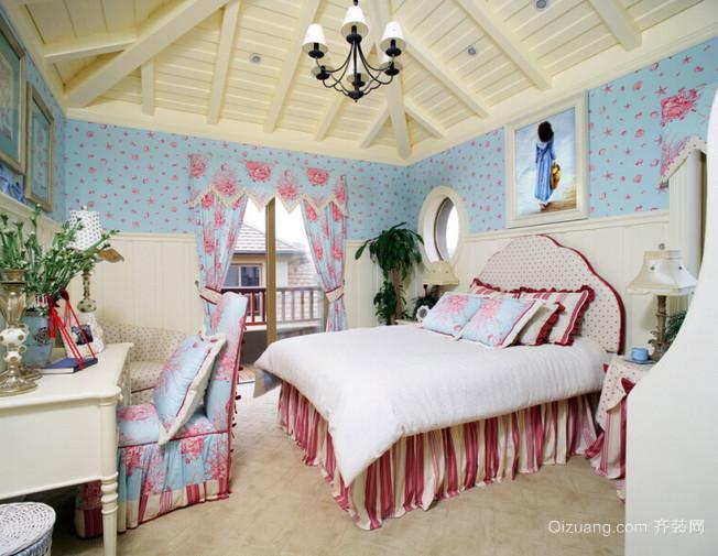 解放心灵的地中海风格卧室装修设计图片大全