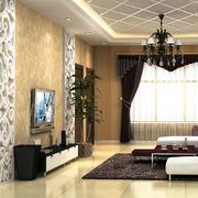 客厅铝扣板吊顶展示