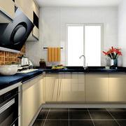 L字型厨房橱柜欣赏