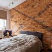 卧室简陋背景墙图片