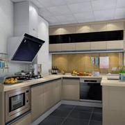 复式楼浅色系厨房