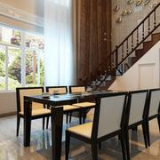 现代简约家居餐厅