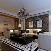 大户型客厅舒适沙发
