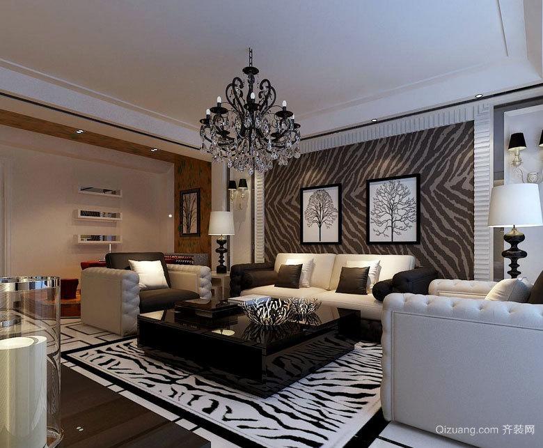 2015新款都市客厅左右沙发装修效果图大全