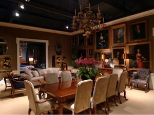 大户型流行时尚的巴洛克风格客厅装修效果图