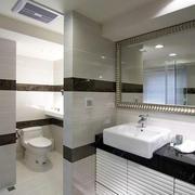 简单明了的精致浴室