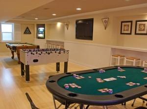 休闲家庭室内娱乐室项目装修效果图
