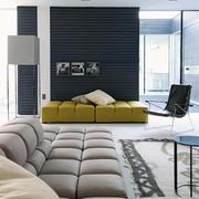 商品房客厅舒适大沙发
