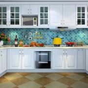 厨房白色精美橱柜