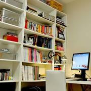 书房大型书柜展示