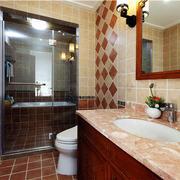 卫生间防水洗手台