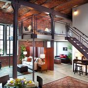 三室两厅复式公寓设计